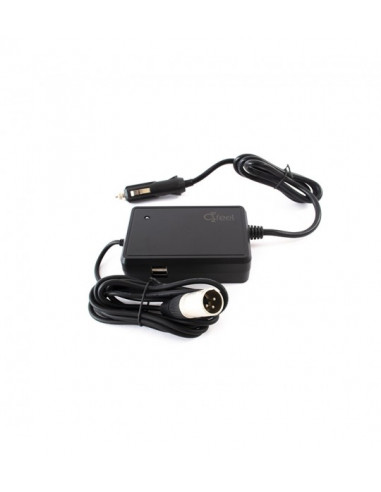 Chargeur allume cigare 3 pins Batterie O2feel